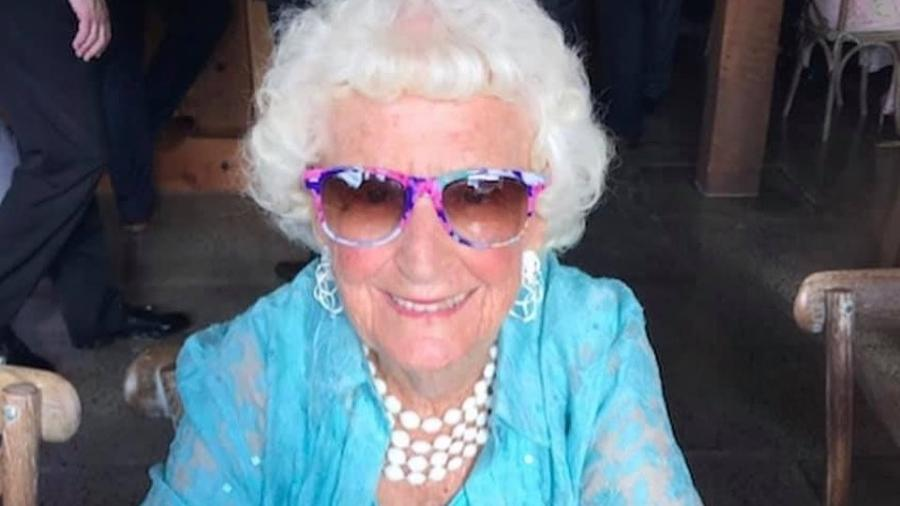 Kathleen Byrne completou 95 anos  - Reprodução/Instagram