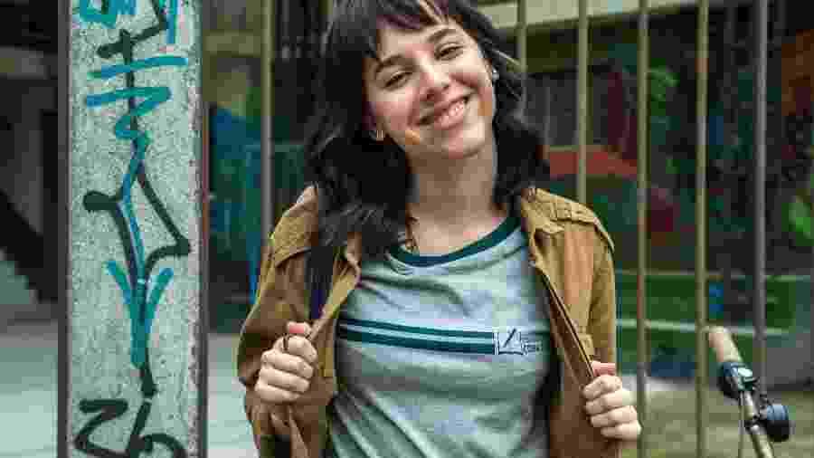 Lica (Manoela Aliperti) em Malhação - Globo/Raquel Cunha