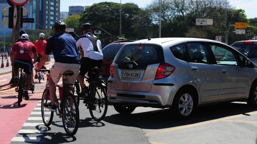 Adesão às bikes aumentou em meio à pandemia do novo coronavírus - Junior Lago/UOL