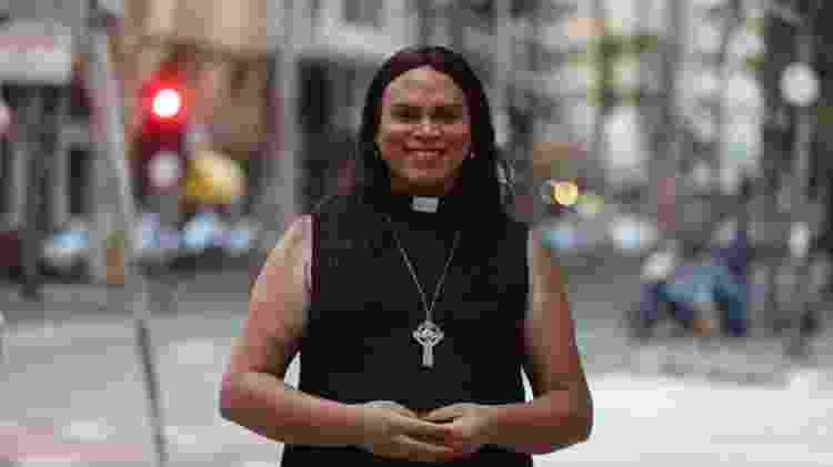 Alexya Salvador, de 39 anos, é mãe de três filhos, pastora e candidata à vereança em São Paulo, pelo PSOL - Arquivo pessoal - Arquivo pessoal