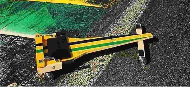 Mulek de Rua fez rolimã especial em homenagem a Ayrton Senna - Divulgação
