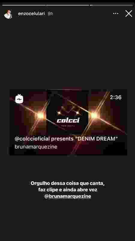 enzo bruna - Reprodução/Instagram - Reprodução/Instagram