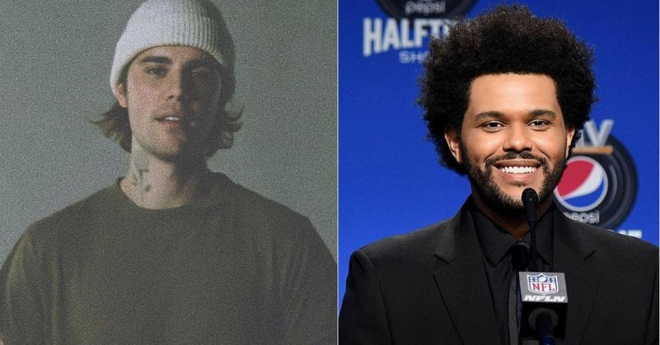 Justin Bieber e The Weeknd: fora do Grammy 2021