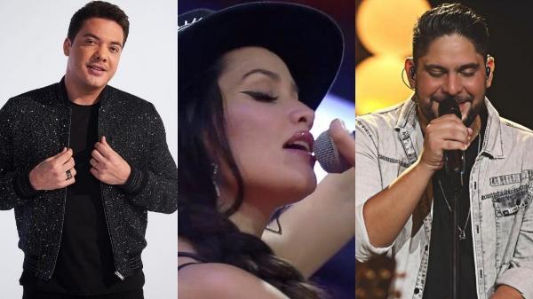 Wesley Safadão e Jorge comentam potencial de Juliette para a música