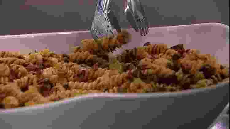 BBB 21: Fiuk pediu macarrão com carne moída no almoço do anjo - Reprodução/ Globoplay - Reprodução/ Globoplay