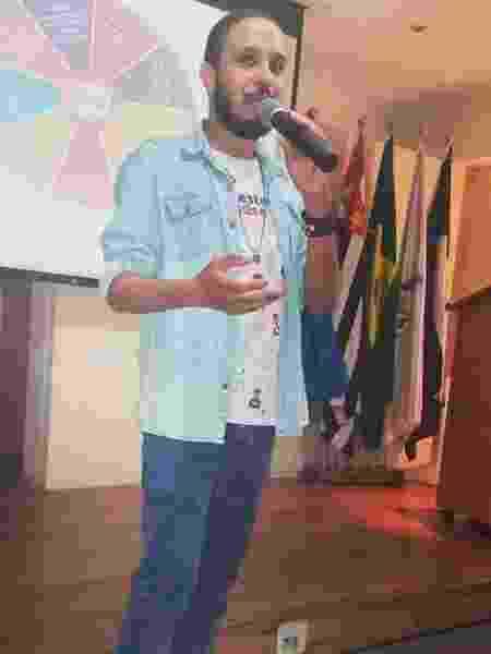 David Oliveira, comunicador digital 2 - Arquivo pessoal - Arquivo pessoal