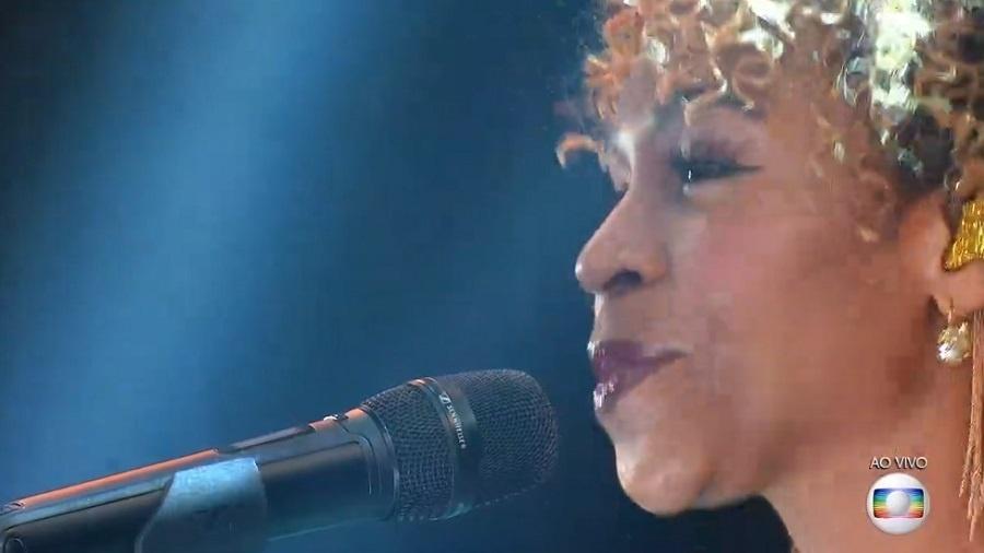 BBB 21: Karol Conká na final do BBB 21 - Reprodução/TV Globo