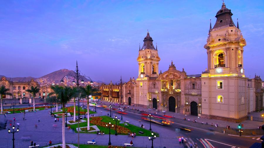 Catedral de Lima, no Peru - John Coletti/Getty Images