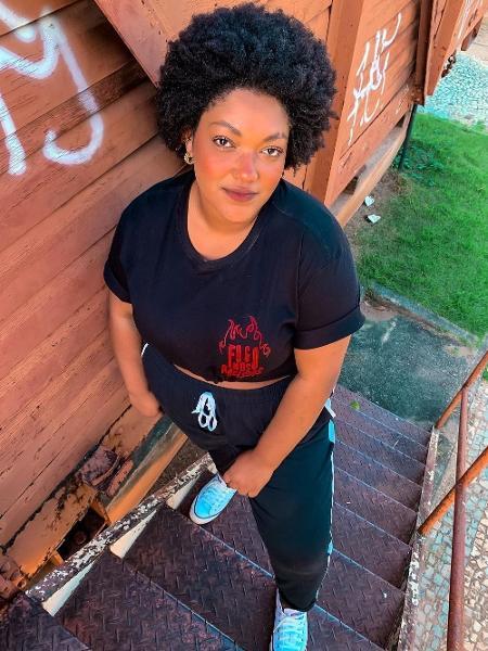 Carol Inacio, criadora de conteúdo digital sofreu racismo e injúria racial em grupo de WhatsApp - Reprodução/Instagram