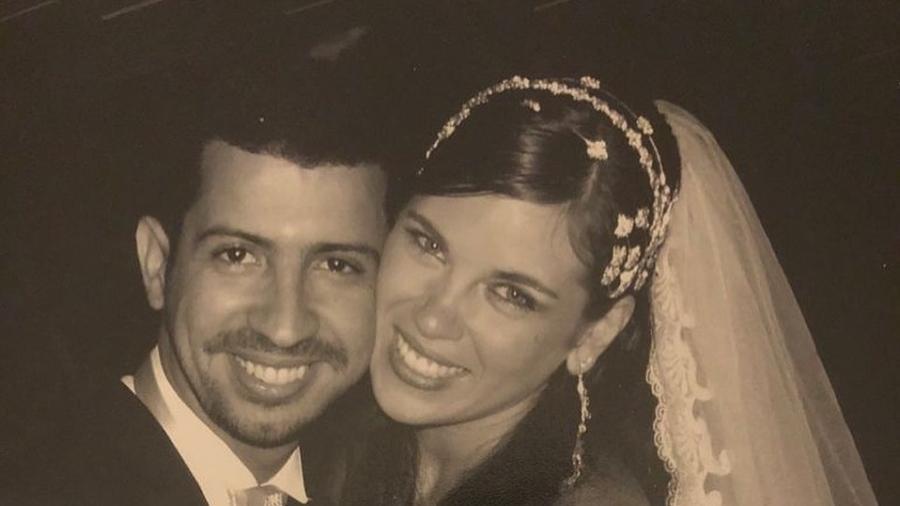 Dennis DJ e Bárbara Falcão se casaram em 2008 - Reprodução/Instagram