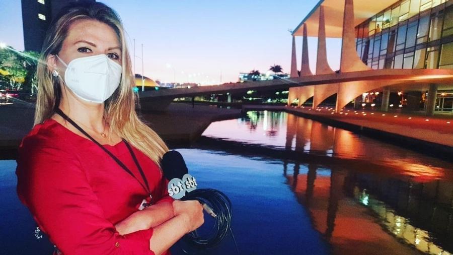 A repórter Nathalia Fruet  - Reprodução/Instagram