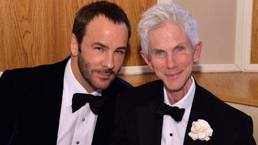 Tom Ford e o marido, Richard Buckley - Reprodução/Instagram