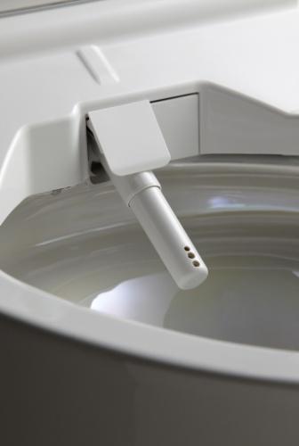 Próximos avanços ? Hoje, 72% das casas japonesas já contam com as washlets, vasos sanitários equipados com assentos aquecidos e jato de água morna. Além do conforto, a vantagem desses modelos é reduzir o uso de papel higiênico. O sistema é mais barato que as bacias inteligentes e estão disponíveis no Brasil