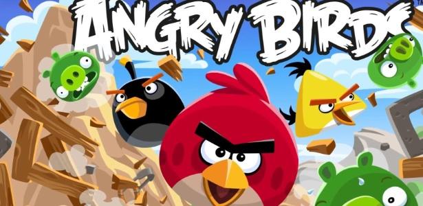 O desenho Angry Birds é uma das estrelas do canal infantil Gloob, da Globosat  - Divulgação