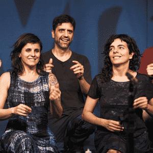 """O grupo Barbatuques apresenta o espetáculo """"Barbatuquices"""" - Divulgação"""
