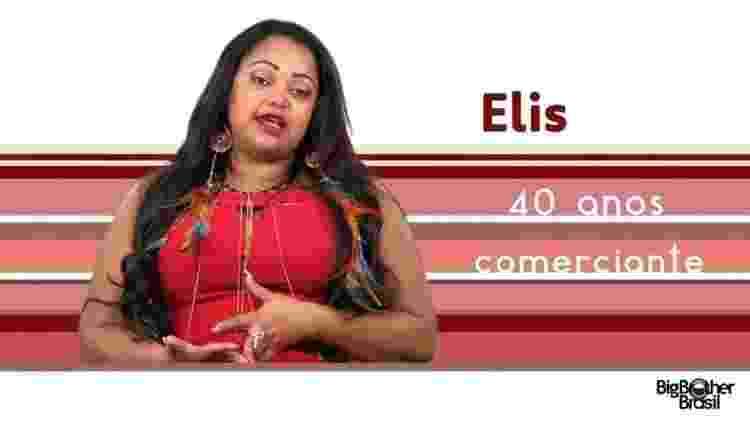 """Elis """"BBB17"""" - Reprodução/TV Globo - Reprodução/TV Globo"""