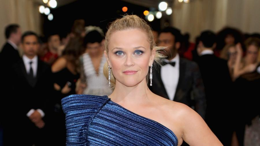 Reese Witherspoon durante um baile do Met Gala - Getty Images