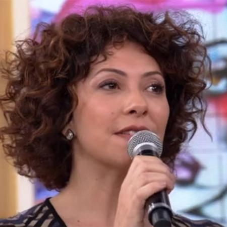 """Fabíula Nascimento no """"Encontro"""" - Reprodução/Globo"""