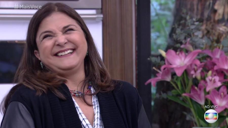 Elizângela acha que Juliana Paes tem que dar pausa na TV e voltar como freira - Reprodução/Globo
