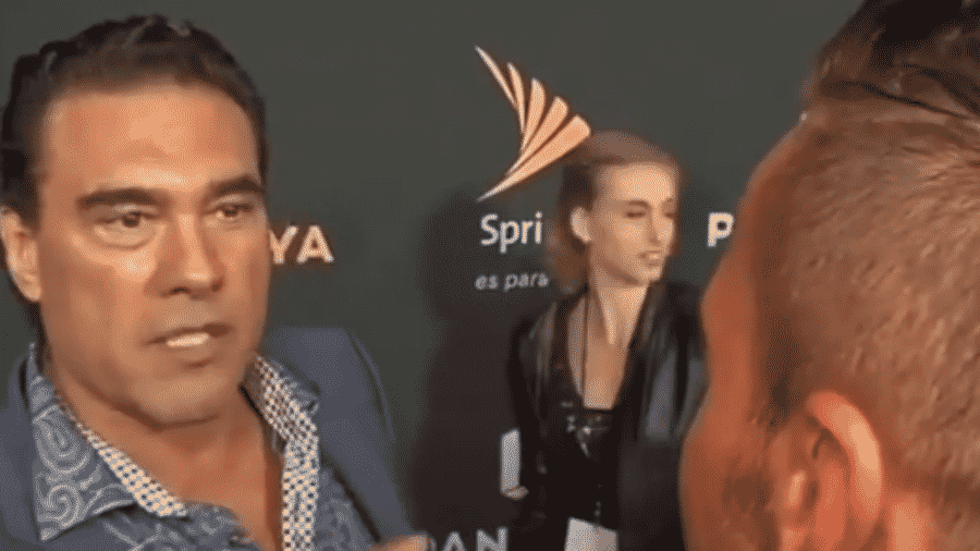 Eduardo Yáñez ataca repórter do canal Univision após pergunta sobre sua vida pessoal - Reprodução