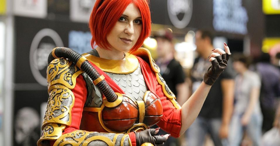 Personagens do League of Legends se materializam nos corredores do São Paulo Expo