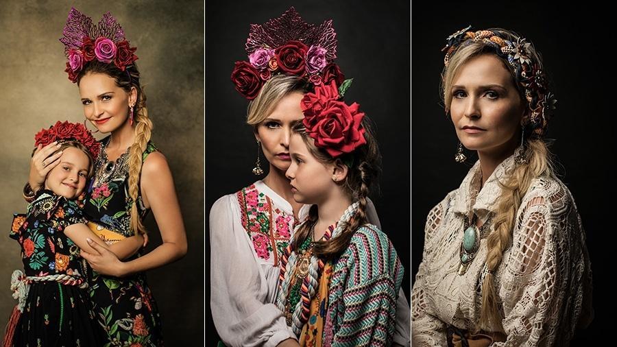 Fernanda e Luísa posaram com looks diferentes e inspiradores - Jorge Bispo/Divulgação