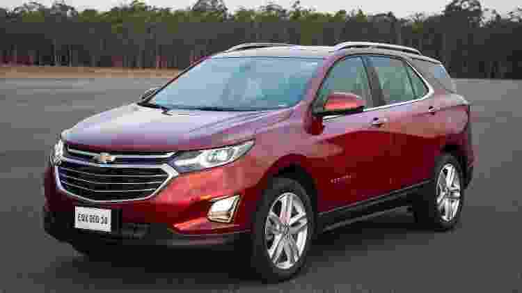 Chevrolet Equinox Premier 2018 - Divulgação - Divulgação