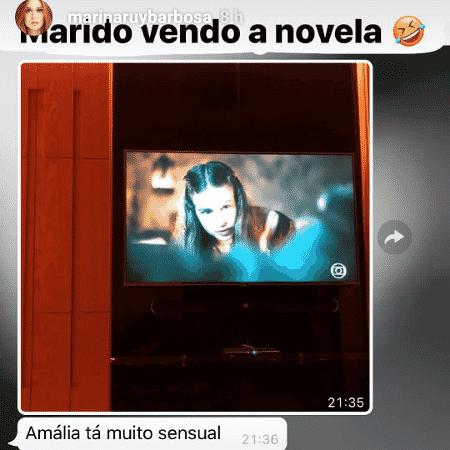 """Xandinho Negrão reclama de Marina Ruy Barbosa em """"Deus Salve o Rei"""" - Reprodução/Instagram - Reprodução/Instagram"""