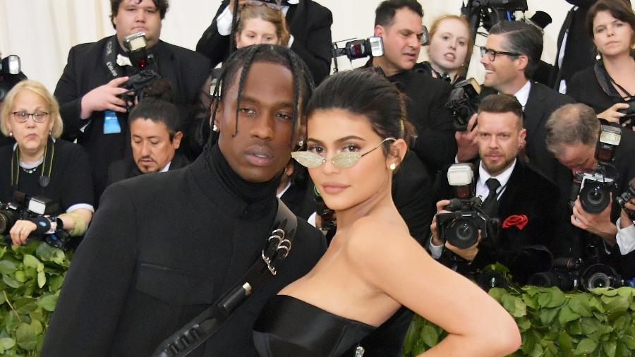 Travis Scott e Kylie Jenner - Getty Images