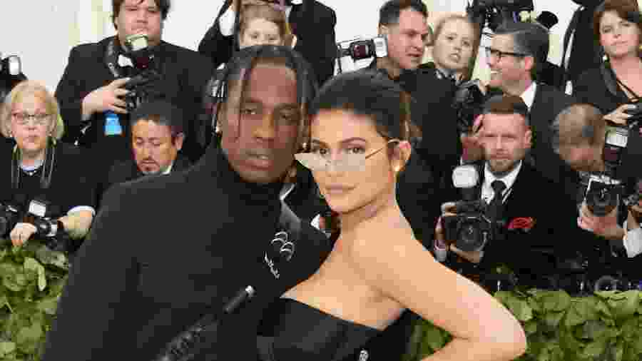 Travis Scott e Kylie Jenner - Getty Images