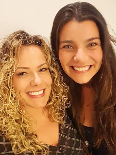Fabiana Garcia e Taís Valieri, as eternas Hzetes - Instagram/Reprodução