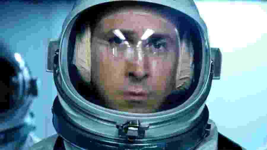 """Ryan Gosling em cena de """"First Man"""" - Reprodução"""