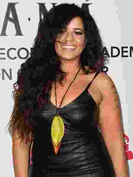 A cantora gaúcha Anaadi - Robyn Beck/AFP