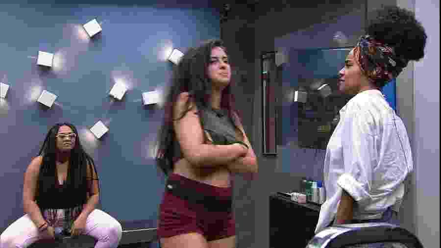 """Gabriela reclama de sisters que usaram creme: """"Eu uso um pouco"""" - Reprodução/Gshow"""