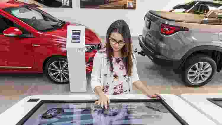 Concessionária digital da Fiat - Divulgação - Divulgação