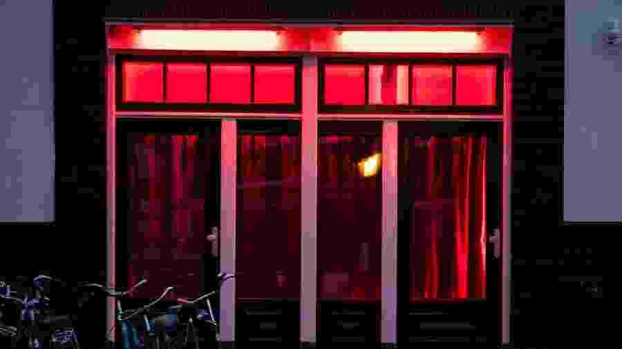 O Red Light District (Distrito da Luz Vermelha), na Holanda - Getty Images/iStockphoto