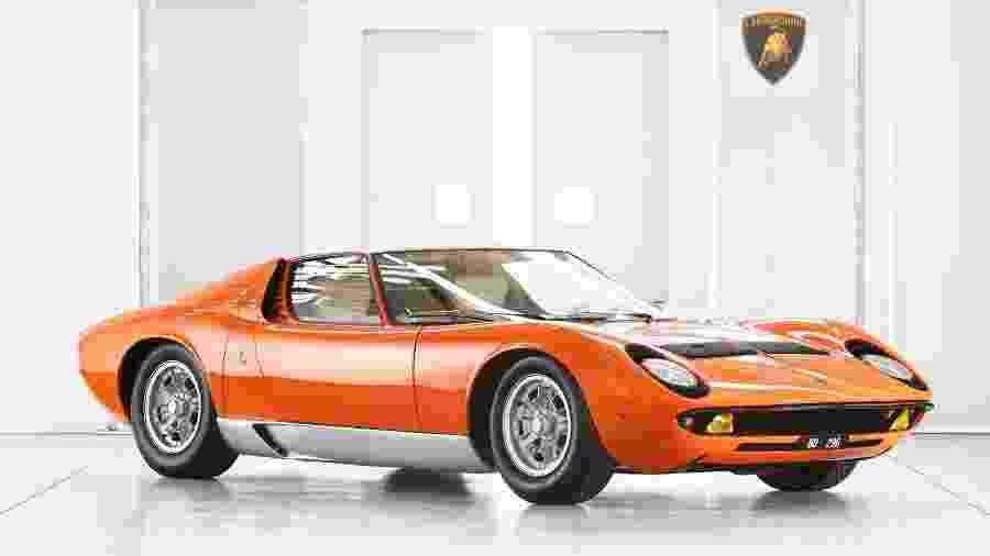 Lamborghini Miura - Lamborghini/Divulgação