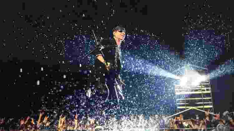 Klaus Meine, vocalista do Scorpions - Reprodução/Facebook