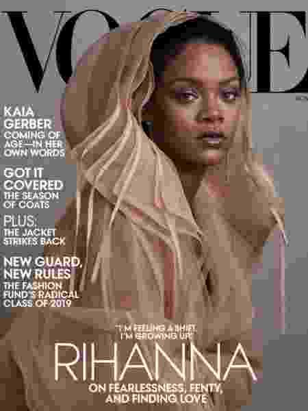 Cantora é capa da revista Vogue de novembro de 2019 - Divulgação