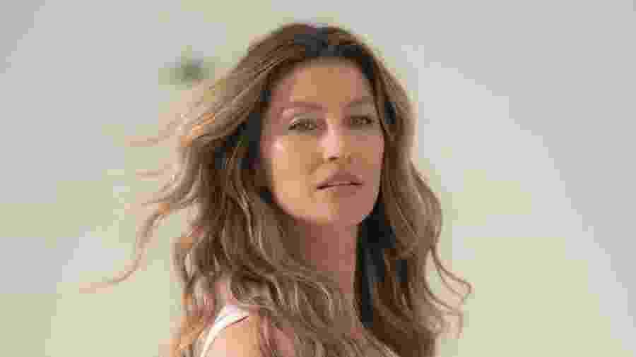 A campanha é estrelada por Gisele Bündchen, que foi maquiada por Daniel Hernandez e fotografada por Nicole Heiniger - Divulgação