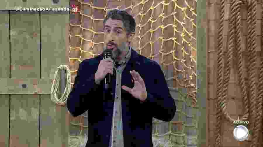 Marcos Mion apresenta A Fazenda 2019 - Reprodução/RecordTV