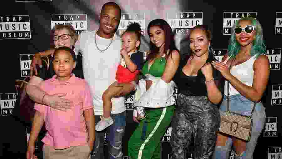 "A vida familiar do rapper T.I foi narrada no reality show ""T.I. & Tiny: The Family Hustle"" - Getty Images"