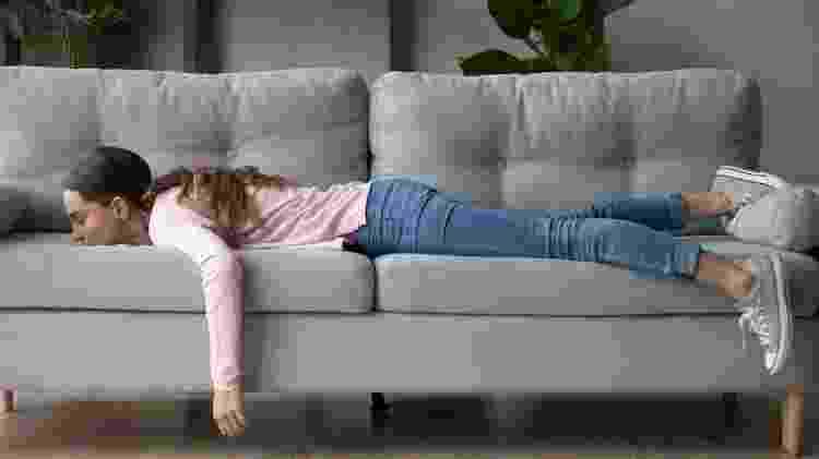 O cansaço físico vem acompanhado de dores no corpo - iStock - iStock