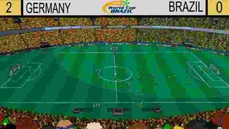Em 'Os Simpsons', Brasil perdeu na Copa do Mundo para a Alemanha... de 2x0 - Reprodução - Reprodução