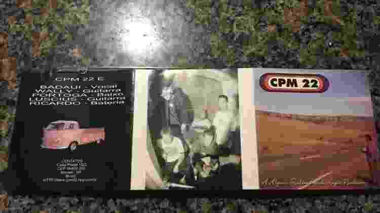 cpm disco encarte - Reprodução - Reprodução