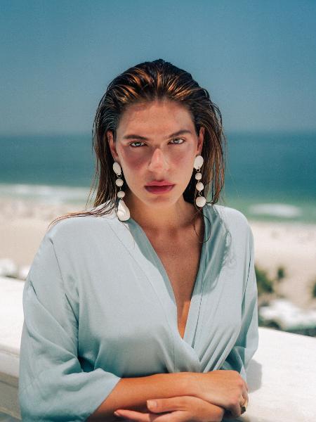 A modelo Mariana Goldfarb tem 30 anos - Leco Moura