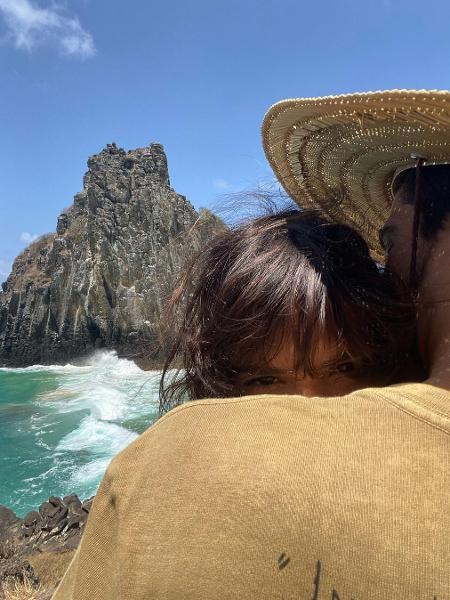 Enzo Celulari relembra Noronha com Bruna Marquezine - Reprodução/Instagram