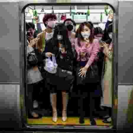Metrô do Japão 2 - Getty Images - Getty Images