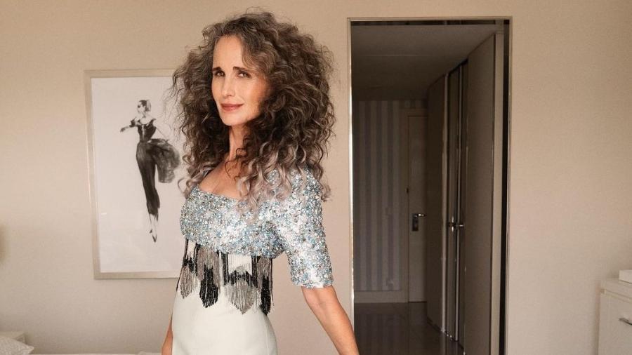 Atriz de 63 anos não concorda com padrões de beleza para as mulheres - Reprodução/Instagram