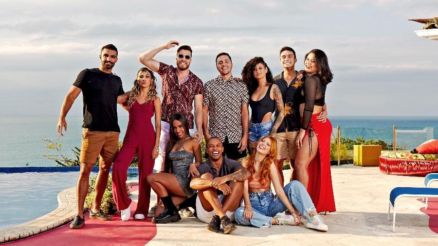 """Participantes do """"Rio Shore"""", o novo reality show de pegação da MTV e do Paramount+ - Divulgação"""